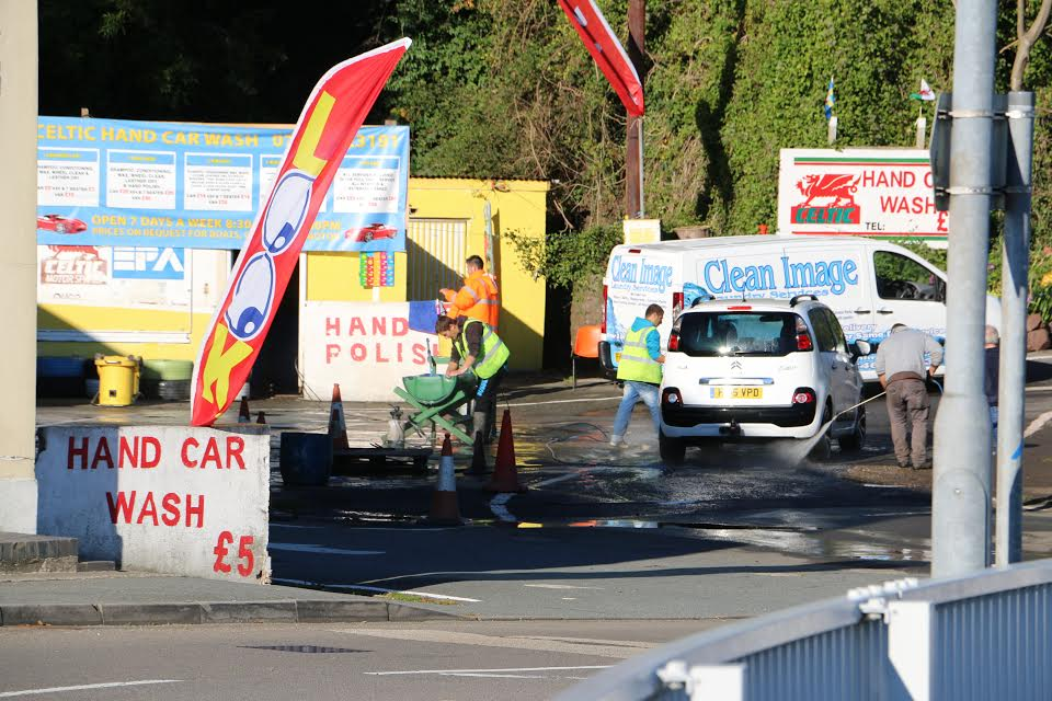 Celtic Hand Car Wash was subject to an raid by Home Office Immigration