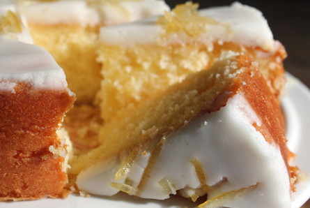 lemon cake pic
