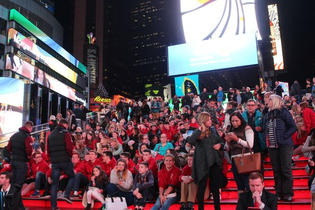 Moving: Welsh anthem was sung in Times Square, New York