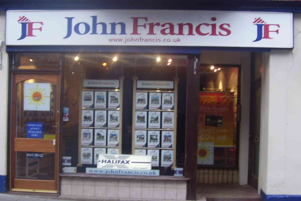 John Francis branch in Tenby