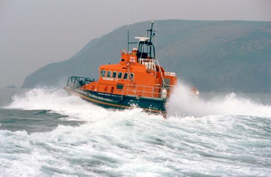 Fishguard all-weather lifeboat