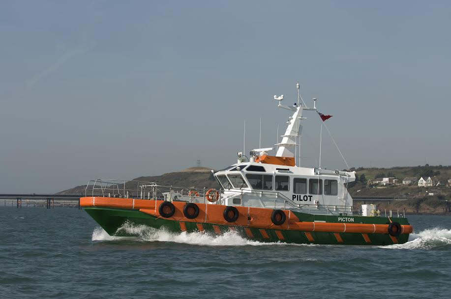 One of the Port's current pilot boats:​ 'Picton'