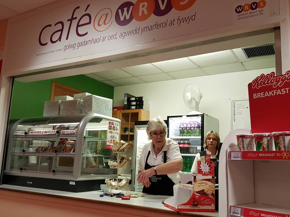 Very sad day: The closure of the WRVS at withybush in favour of Costa. (Pic Lesley Cloud)