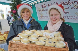 Xmas cheer: Fill yourself up on local produce: Farmers' markets across Pembrokeshire during the festive season