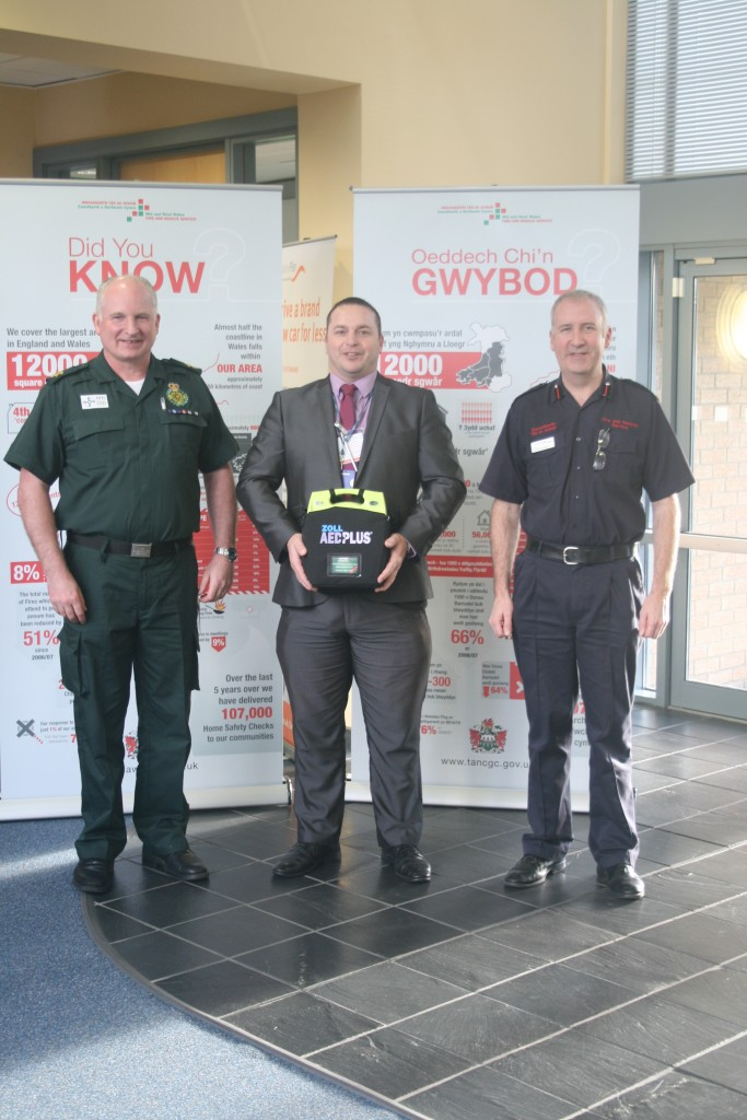 Milford Haven: Part of the co-responding station team