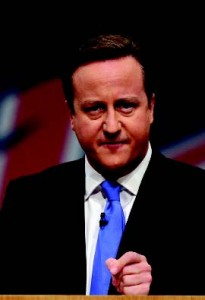 David Cameron: Helped to victory by negative campaign