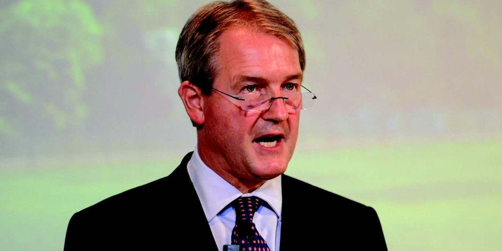 Farmers' futures: Owen Paterson says better out than in