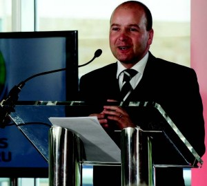 Quids in: FAW Chief Executive Jonathan Ford will see a huge increase in revenue