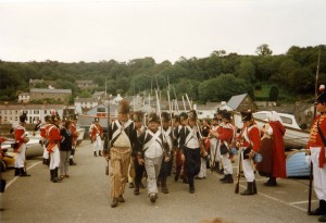 Back in 1997: A reenactment of the invasion took place on the 200 anniversary