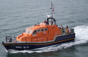 Mark Mason: Angle RNLI's all weather Tamar class lifeboat