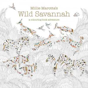 'Wild Savannah': Millie Marotta's brand new colouring book