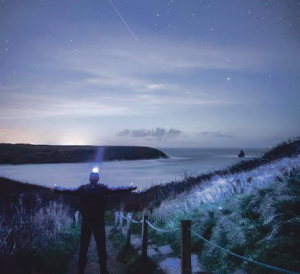 Wayne Boucher's fantastic shot: ISS spotted over Broad Haven South