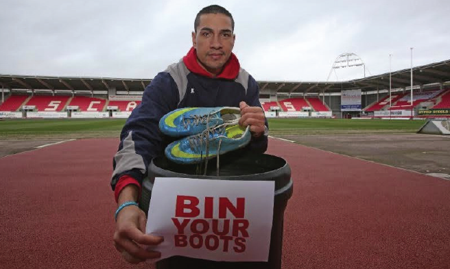 Bin your Boots: Bring your old boots to the Parc