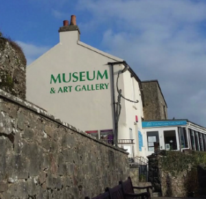 Tenby Museum: Marc Tierney backs campaign to keep it open (Pic. Johnny Trotter)
