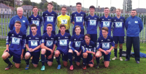 Pembrokeshire College FC: Pictured at a previous fixture