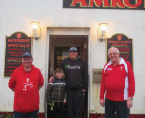 Winners: Presented with prizes in Amroth