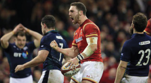George North: Delighted to end his international try drought