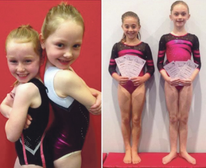 Regional squad members: Jessica Thomas, Laya Gane-Harrt, Ffion Roberts and Arabella Hurst