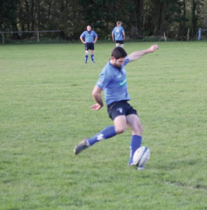 Opening score: Mikey Jones scored for Haverfordwest