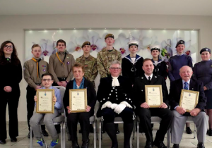 High Sheriff and Charitable Trust Awards: Young people honoured at The Wolfscastle Hotel