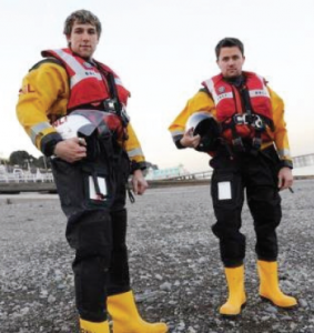 Matt and Dan Church: Brothers 100 miles apart join forces in RNLI rescue mission