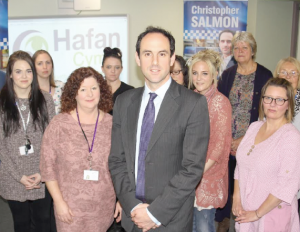 Launch: Christopher Salmon launches his manifesto