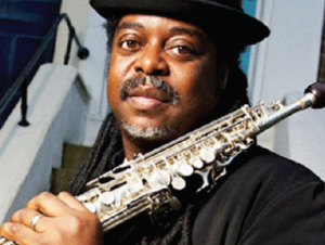 Jazz saxophonist Courtney Pine: Appearing at Theatr Gwaun in August as part of Aberjazz