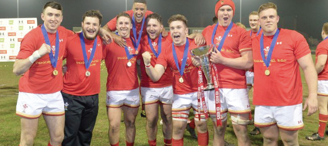 Wales U20: Celebrating this year's Grand Slam victory