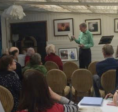 Newport Community Library: Trevor Fishlock speaks about his book 'A Gift of Sunlight', written about the Davies sisters of Llandinam