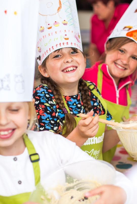 Healthaspire's children's cookery school: One of the many attractions at this year's Milford Fish Festival