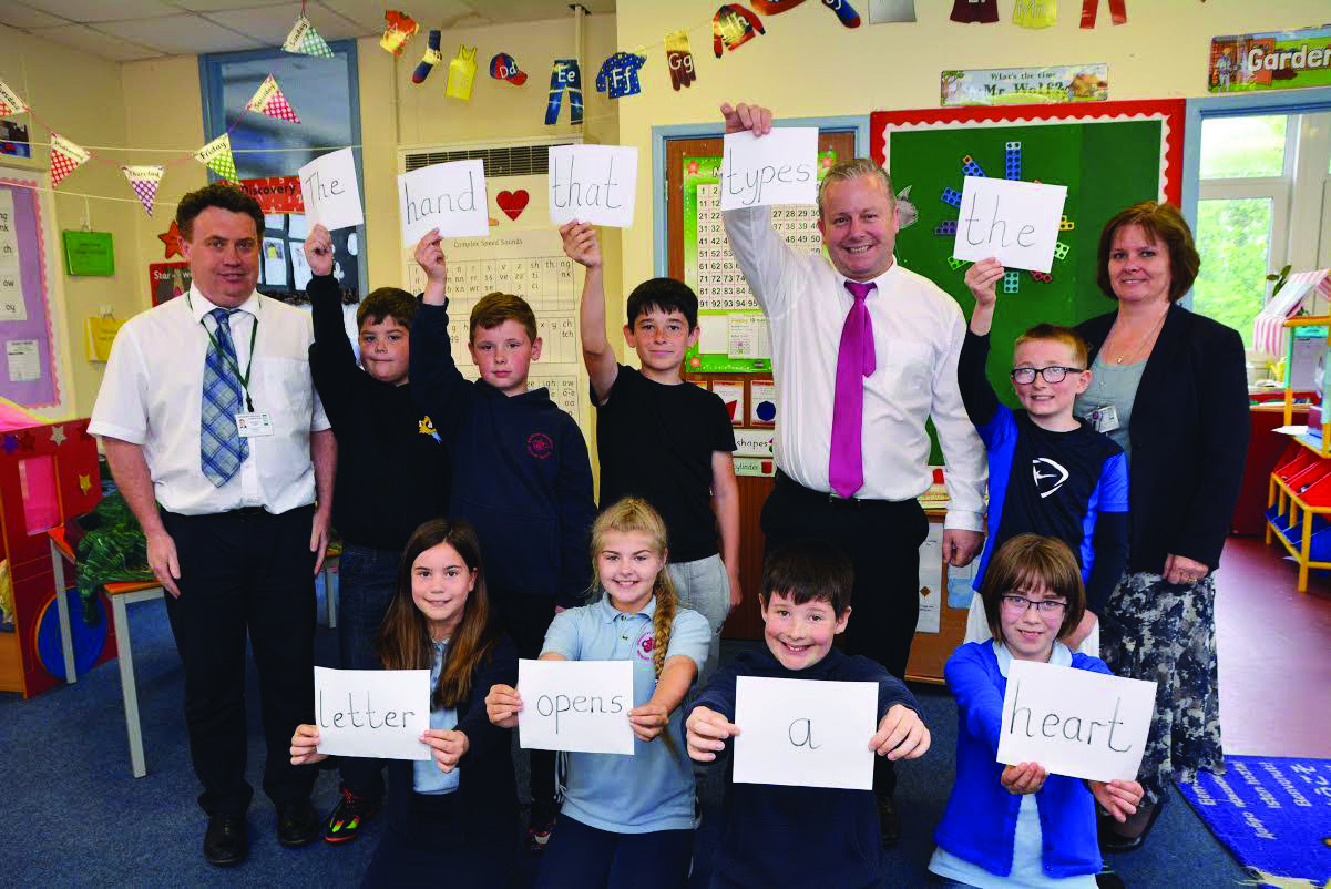 Dylan's 'Great Poem': Eight Johnston School pupils' words chosen out of hundreds worldwide to be part of bilingual epic poem