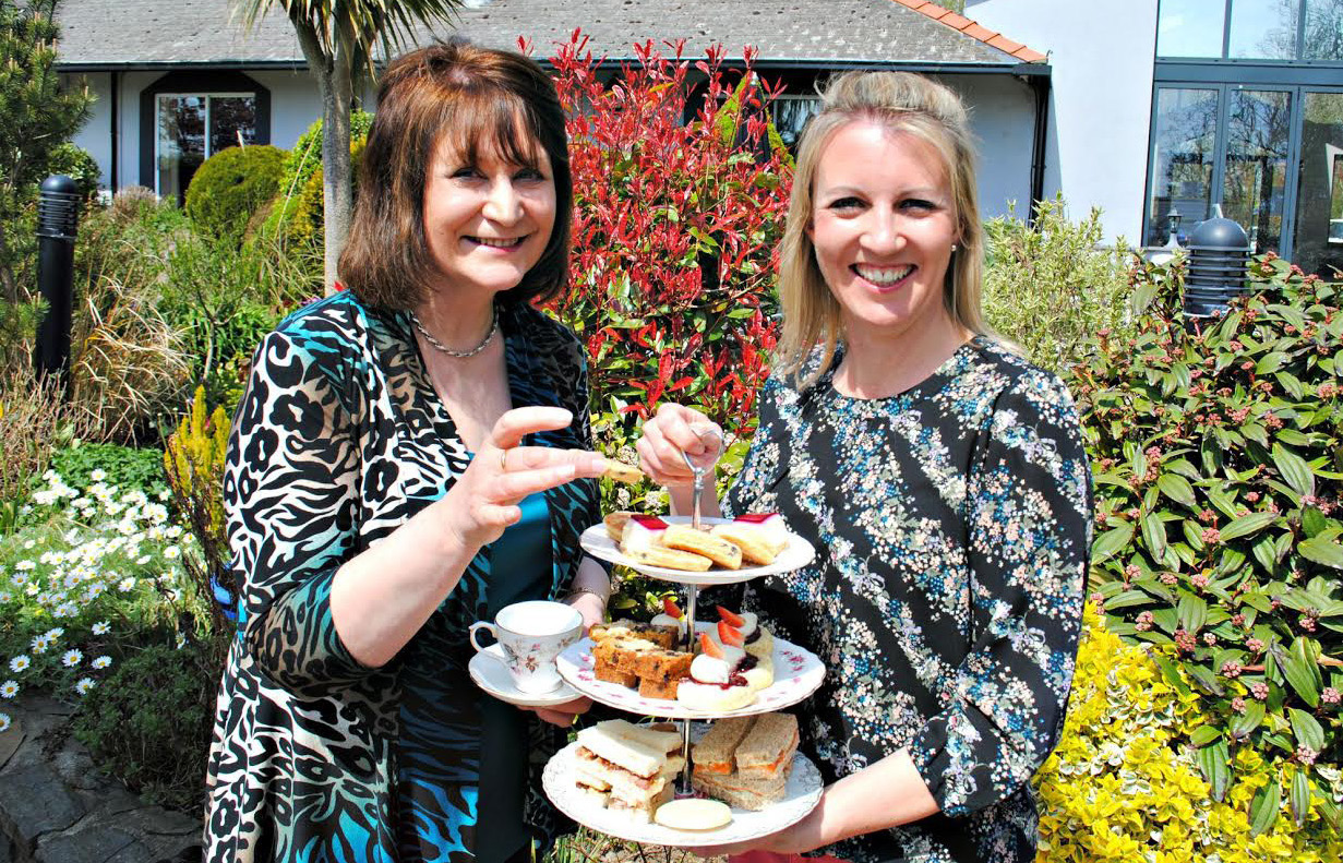 Recipe restored: Rosalind Raymond of Jordanston Church with Mandy Stirling of Wolfscastle Country Hotel