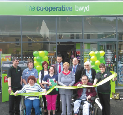 Avenue Centre: Opening the new Tenby Co-op store