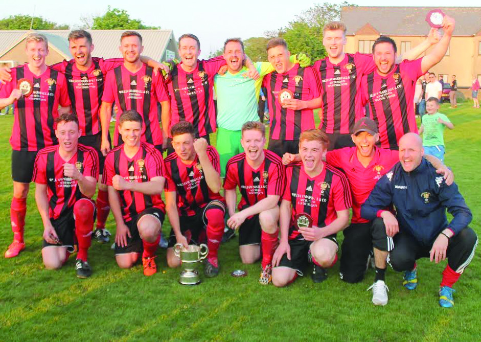 League: Goodwick with the Pembrokeshire League title at Hakin