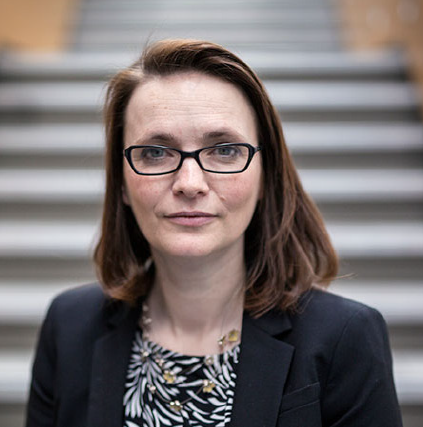 A warm welcome: Kirsty Williams