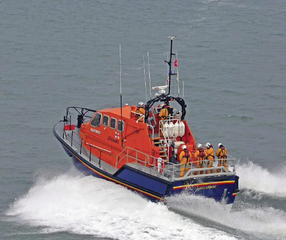 The Mark Mason: The lifeboat which helped the vessel
