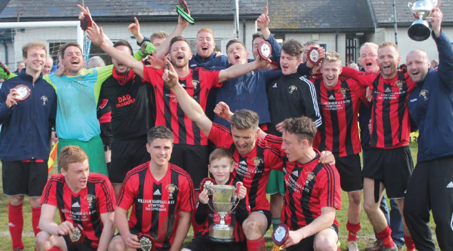 Defending champions: Goodwick will kick their Senior Cup campaign off against Angle