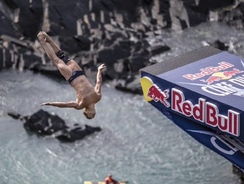 Adrenaline rush: The Red Bull Cliff Diving World Series returns to Abereiddy this September