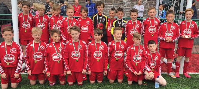 Runners up: Last season's under 11's Pembrokeshire Schools squad, who were runners up in the Welsh Schools Tom Yeoman Festival