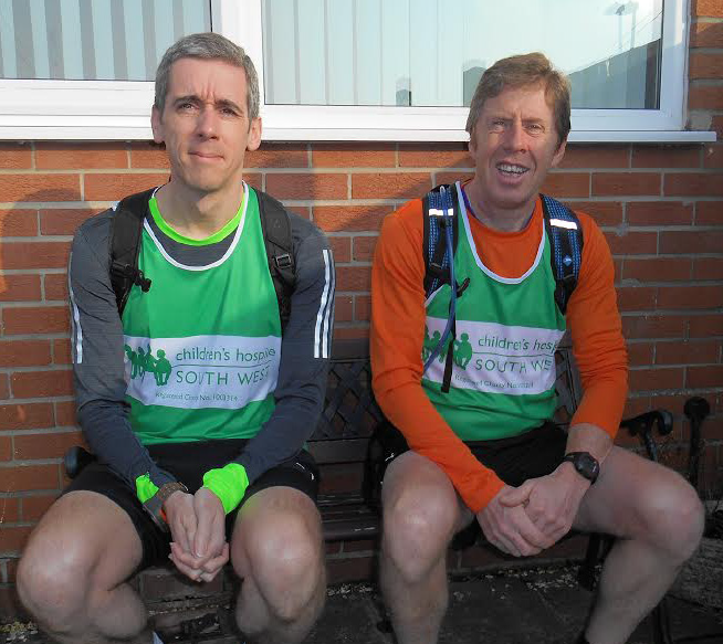 Andy May and Neil Hopkins: Taking on a 381 mile run for charity