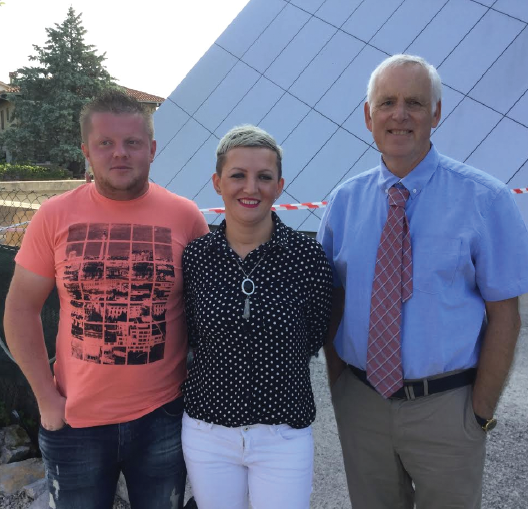 The Kalaš family: Now have a home thanks to Omri and Betty Arnold