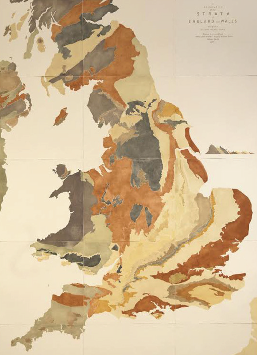 'A Delineation of the Strata of England and Wales, with part of Scotland': Created in 1815