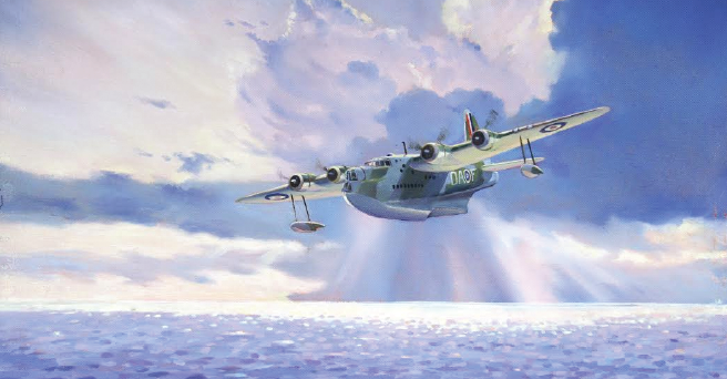 'Flight From Oban' by Tim Jenkins: Limited edition print available to purchase for £20