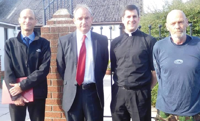 Cllr Thomas Tudor: Meeting with local residents and officials