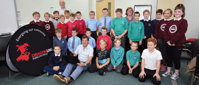 Fun workshop: Enjoyed by pupils around the county