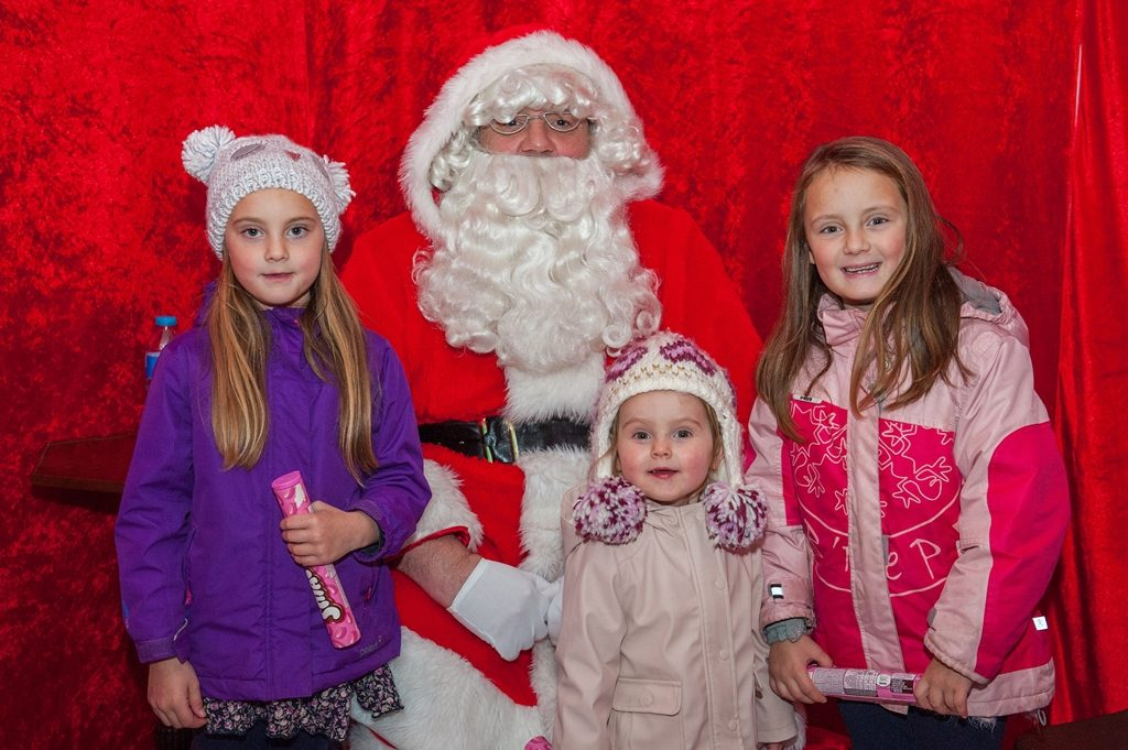 Festive fun: Children can visit Santa in his Grotto