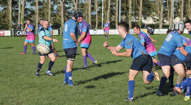Haverfordwest: Coming away with the ball after a good turnover