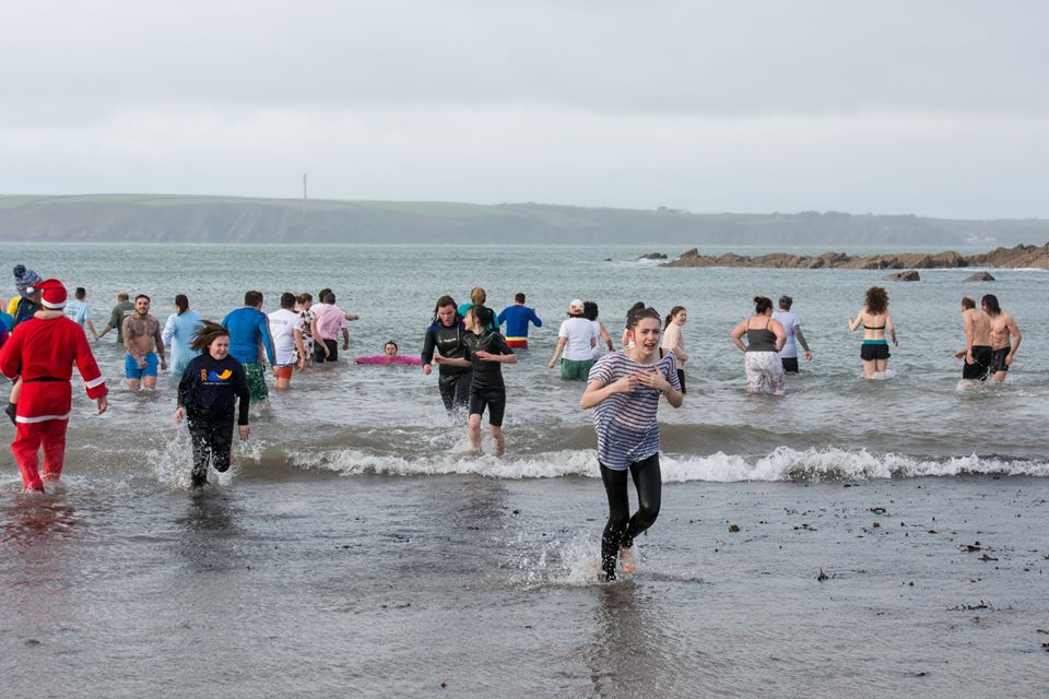 Freezing cold: The temperature didn't put off the participants at Angle (pic. Mike Hillen)