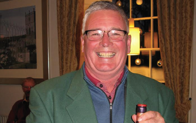 Winner: John Richards in the Infamous Green Jacket