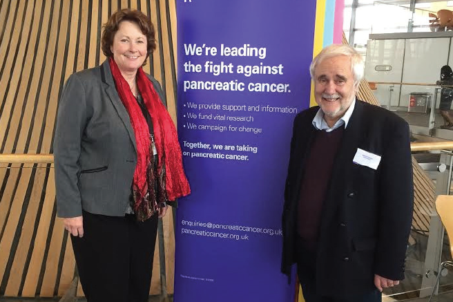 Angela Burns AM: Supporting Pancreatic Cancer UK's drive to improve care